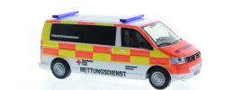 RIETZE 51924 VW T5 2010 BRK KV M�ünchen Blaulichtmodell 1:87 online kaufen