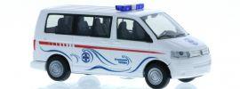 RIETZE 51925 VW T5 Bus 2003 Wasserrettung Velden Blaulichtmodell 1:87 online kaufen