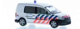 RIETZE 52917 VW Caddy 2011 Politie Blaulichtmodell 1:87 online kaufen