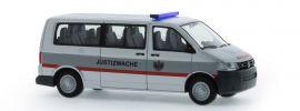 RIETZE 53635 VW T5 Bus Justizwache Österreich Automodell 1:87 online kaufen