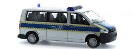 RIETZE 53636 Volkswagen T5 2010 Bayerische Landespolizei Blaulichtmodell Spur H0 online kaufen