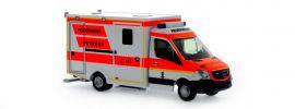 RIETZE 61722 Mercedes-Benz Sprinter WAS RTW NAW Berufsfeuerwehr  München Blaulichtmodell 1:87 online kaufen