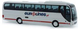 RIETZE 65556 MAN Lions Coach 2015 Eurolines Busmodell 1:87 online kaufen