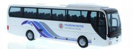 RIETZE 65557 MAN Lions Coach Polizeiorchester Niedersachsen  Busmodell 1:87 online kaufen
