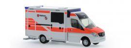 RIETZE 72044 Mercedes-Benz Sprinter WAS Design RTW Malteser Hannover Blaulichtmodell 1:87 online kaufen