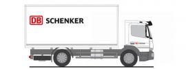 RIETZE 72505 Mercedes-Benz Atego 2019 Koffer-LKW DB Schenker LKW-Modell 1:87 online kaufen