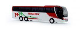 RIETZE 74811 MAN Lion's Coach L 2017 M�üller Reisen Pforzheim Busmodell 1:87 online kaufen