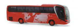 RIETZE 74821 MAN Lions Coach 2017 Unser Roter Bus Uckermünde Busmodell 1:87 online kaufen