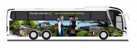 RIETZE 74833 MAN Lions Coach L 2017 KomBus Th�üringen entdecken Busmodell 1:87 online kaufen
