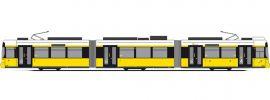 RIETZE STRA01074 Adtranz GT6 BVG Wagennummer 2217 Strassenbahnmodell 1:87 online kaufen