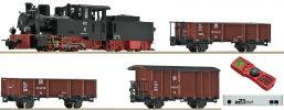Roco 31031 Digital-Startset Feldbahn Dampflok + Güterzug DR | DCC | Spur H0e online kaufen