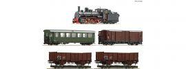 Roco 31032 Zugset Dampflokomotive 399.06 mit GmP | DCC | 5-teilig | Spur H0e online kaufen