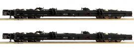 Roco 34067 2-tlg. Set Rollwagen DR | DC | Spur H0e online kaufen