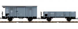 Roco 34559 2-tlg. Set Güterwagen RüKB   DC   Spur H0e online kaufen
