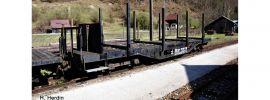 Roco 34580 Rungenwagen SSm/s ÖBB | DC | Spur H0e online kaufen