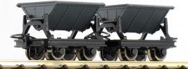 Roco 34600 2-teiliges Set Kipploren Spur H0e online kaufen