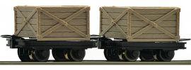 Roco 34603 Kastenloren-Set 2-tlg. | DC | Spur H0e online kaufen