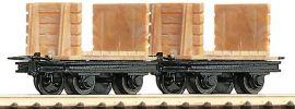 Roco 34604 2-teiliges Set Grubenloren | Spur H0e online kaufen