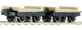 Roco 34607 Brückenloren-Set 2-tlg. | DC | Spur H0e online kaufen
