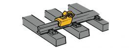 Roco 40004 Hemmschuhe gelb | 12 Stück | Spur H0 online kaufen