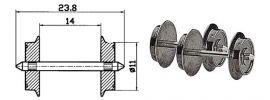 Roco 40183 Radsatz AC 11mm 2 Stk. Spur H0 online kaufen
