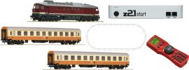 Roco 51301 z21 Digital Startset Diesellok BR 132 mit Personenzug   DR   DCC Sound   Spur H0 online kaufen