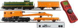 Roco 51305 z21 Digital Start-Set Diesellok D.307 mit Bauzug | Renfe | DCC | Spur H0 online kaufen
