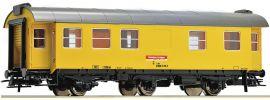 Roco 54294 Bauzugwagen gelb DB AG | DC | Spur H0 online kaufen