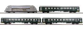 Roco 61451 Zugpackung E-Lok El 18 + Reisezug NSB | DC analog | Spur H0 online kaufen