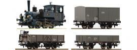 Roco 61457 Zugpackung Rh 85 + Güterzug Kaiserzeit KKStB | DC analog | Spur H0 online kaufen