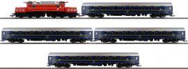 Roco 61470 Zugset E-Lok Rh 1020 und 4 CIWL-Schlafwagen ÖBB | AC Sound | Spur H0 online kaufen
