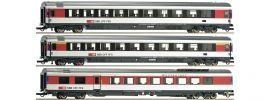 Roco 64143 Reisezugwagen-Set 3-tlg. SBB | DC | Spur H0 online kaufen