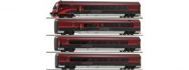 Roco 64190 Personenwagen-Set 4-tlg. Railjet ÖBB | AC-Digital | Spur H0 online kaufen