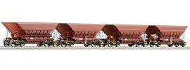 Roco 66080 4-tlg. Set: Erzwagen Master-Slave LKAB | DC | Spur H0 online kaufen