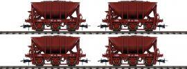 Roco 67075 4-tlg. Set Erzwagen SJ   DC   Spur H0 online kaufen