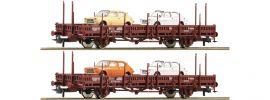 Roco 67086 Rungenwagen-Set 2-tlg. Us RENFE | DC | Spur H0 online kaufen