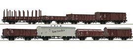 Roco 67127 Güterwagen-Set 8-teilig DR | Spur H0 online kaufen