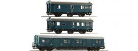 Roco 67198 Bauzugwagen-Set 3-tlg. DB | DC | Spur H0 online kaufen