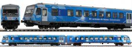 Roco 72076 Dieseltriebzug BR 628 DB AG | DC analog | Spur H0 online kaufen