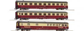 Roco 74096 3-tlg. Set Nr. 2 Autoreisezug Christoforus-Express DB | DC | Spur H0 online kaufen