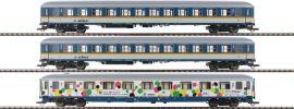 Roco 74108 3-teiliges Set Reisewagen | alex | DC | Spur H0 online kaufen