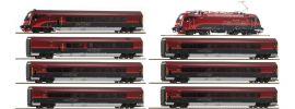 Roco 74116 Zugpackung Rh 1216 Railjet ÖBB | AC-Sound | Spur H0 online kaufen