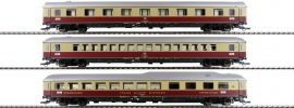 Roco 74135 Set 1 Reisezugwagen 3-tlg. Rheingold DB | DC | Spur H0 online kaufen