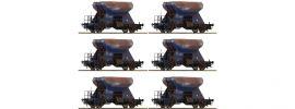 Roco 75959 Gealterte Schotterwagen Display 12-tlg. Fccpps Railpro | DC | Spur H0 online kaufen