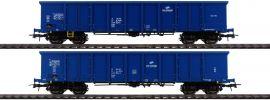 Roco 76044 2-tlg. Set Offene Güterwagen Eaos PKP | DC | Spur H0 online kaufen
