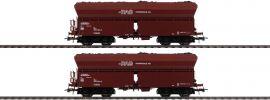 Roco 76058 2-tlg. Set 1 Selbstentladewagen RAG | DC | Spur H0 online kaufen