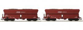 Roco 76059 2-tlg. Set 2 Selbstentladewagen RAG | DC | Spur H0 online kaufen