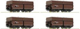 Roco 76063 Erzwagen-Set 4-tlg. Fad ÖBB | DC | Spur H0 online kaufen