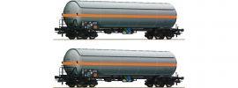 Roco 76073 2-tlg. Set Druckgaskesselwagen NACCO | DC | Spur H0 online kaufen