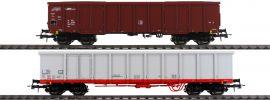 Roco 76076 2-tlg. Set Offene Güterwagen ÖBB | DC | Spur H0 online kaufen